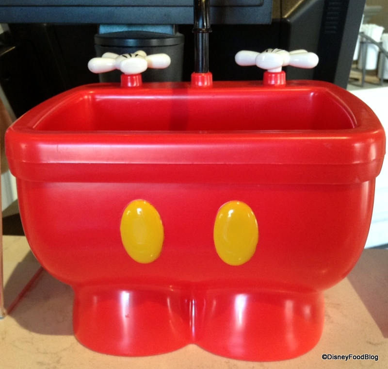 New mickey kitchen sink sundae aka the mickey pants sundae in mickey kitchen sink container plaza workwithnaturefo
