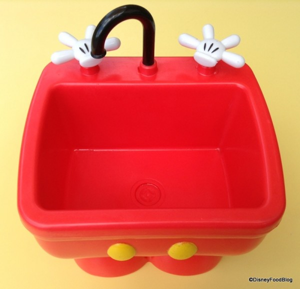 Mickey Kitchen Sink Empty Container