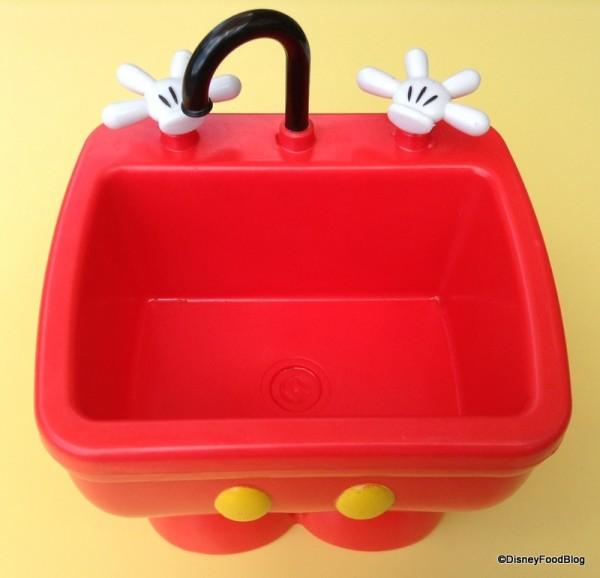 Mickey Kitchen Sink Empty Container