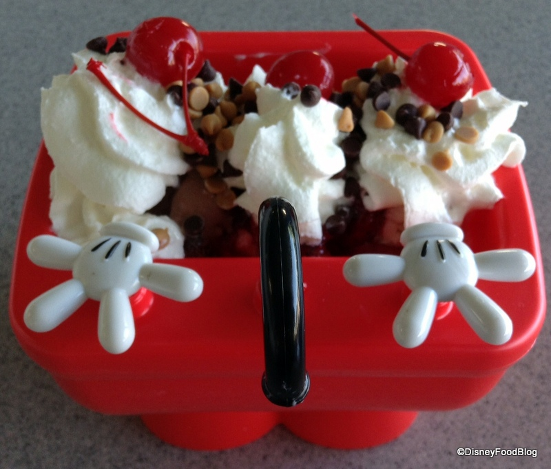 Elegant Mickey Kitchen Sink Sundae From Above    Faucet Close Up
