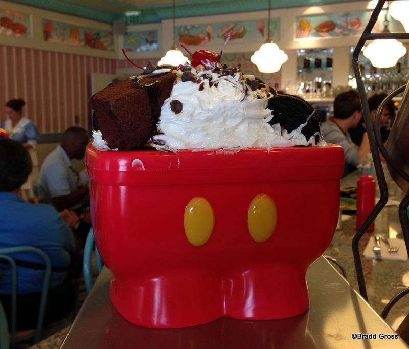 NEW! Mickey Kitchen Sink Sundae (AKA The Mickey Pants Sundae) in ...
