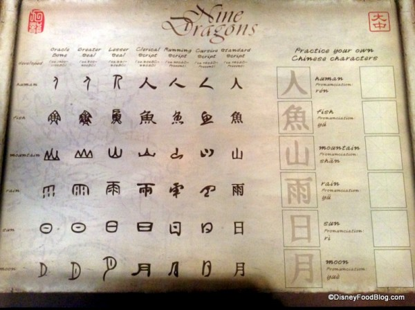 Nine Dragons Placemat