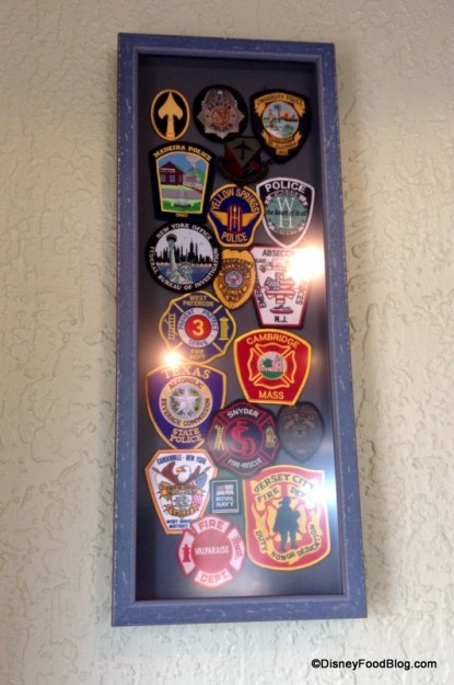 Framed patches