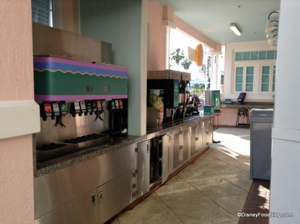 Beverage Station at Good's Food To Go