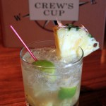 Happy Hour: The Pineapple Caipirinha at The Crew's Cup Lounge in Disney's Yacht Club Resort