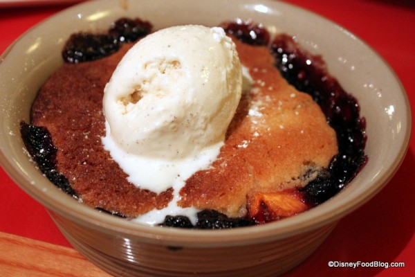 Seasonal Fruit Cobbler