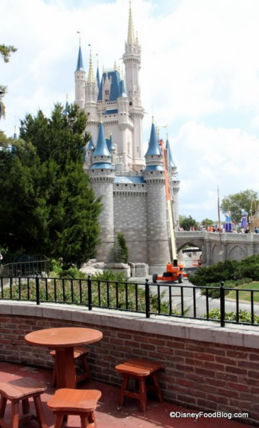 Sleepy Hollow Castle View Seating