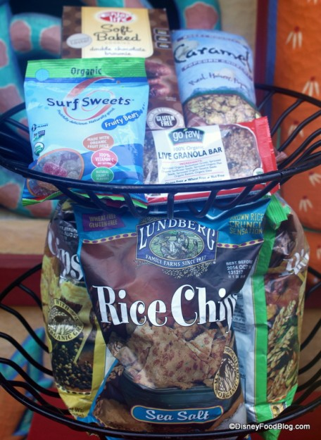 Some of the Snacks Available Here