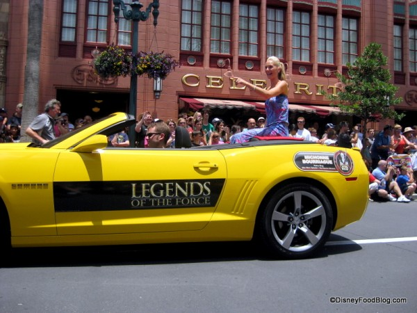 Star Wars Celebrity Motorcade