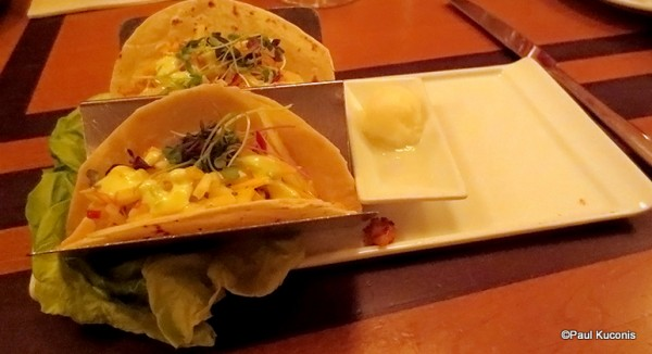 Sustainable Fish Taco Appetizer