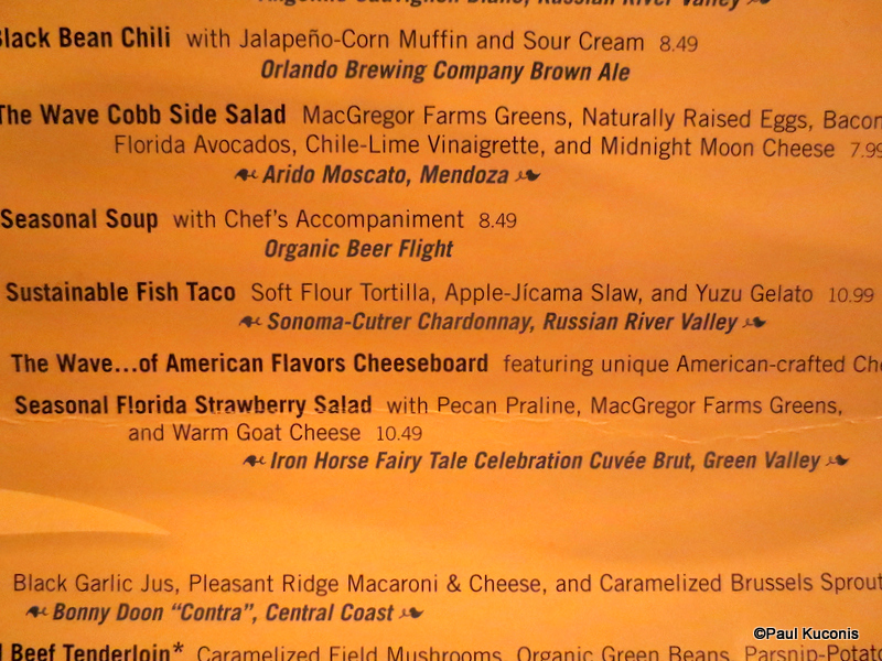 Sustainable fish taco menu item for Fish taco menu