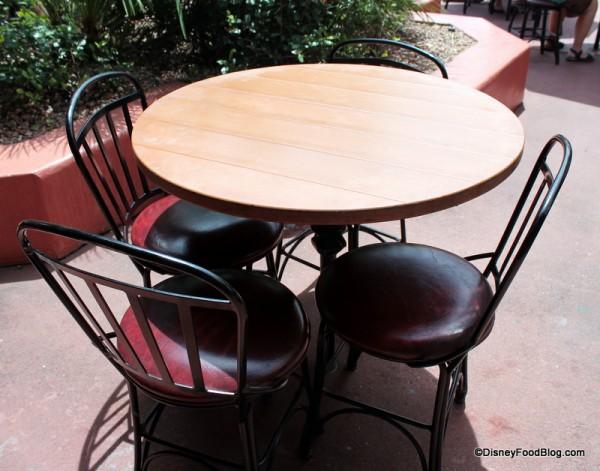 Tortuga Tavern Table