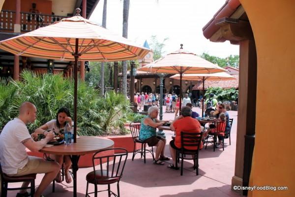 Tortuga Tavern Seating