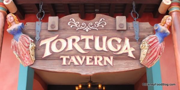 Tortuga Tavern Sign