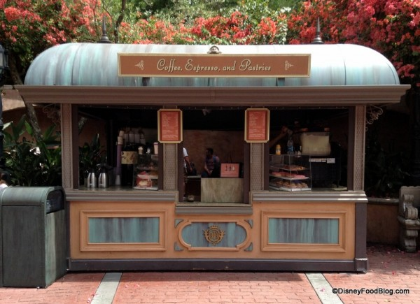 Tower of Terror Coffee Stand