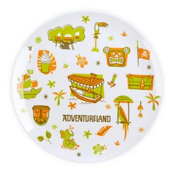 Adventureland Plate