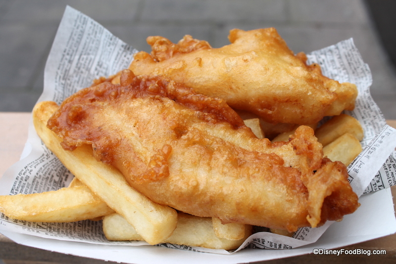 disney food throw down best fish and chips in walt disney