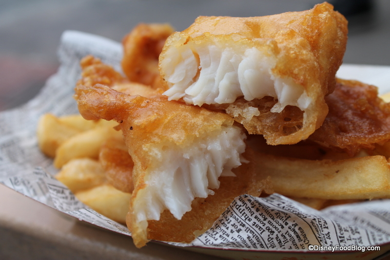 Disney Food Throw Down: Best Fish and Chips in Walt Disney World | the disney food blog