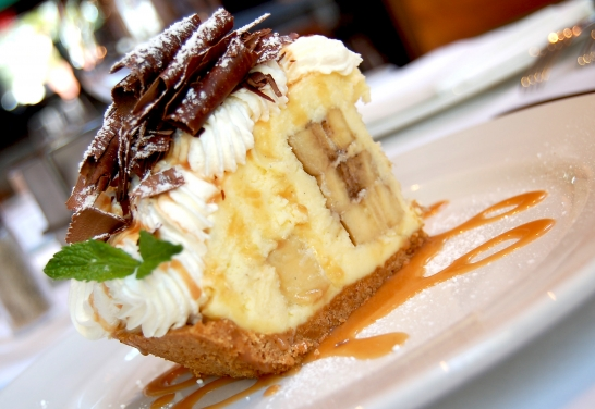 Banana Cream Pie at Emeril's Orlando