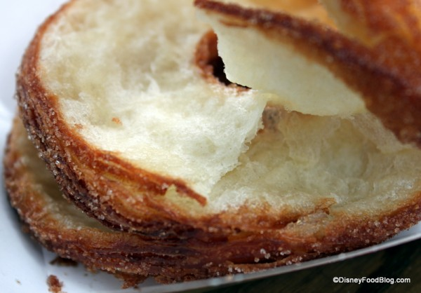 cronut pastry close up
