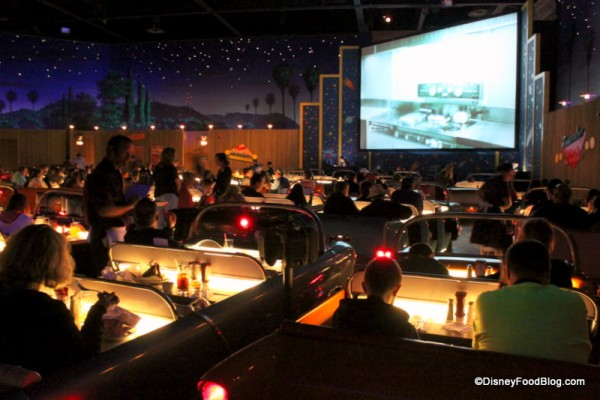 Dine in a Convertible at Sci-Fi