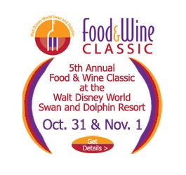 2014 Swan and Dolphin Food and Wine Classic Thumbnail Logo
