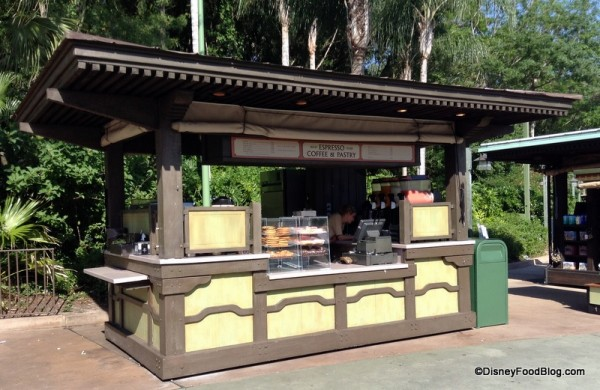 Kiosk before entering Animal Kingdom