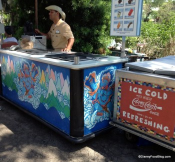 Animal Kingdom frozen treat cart (2)
