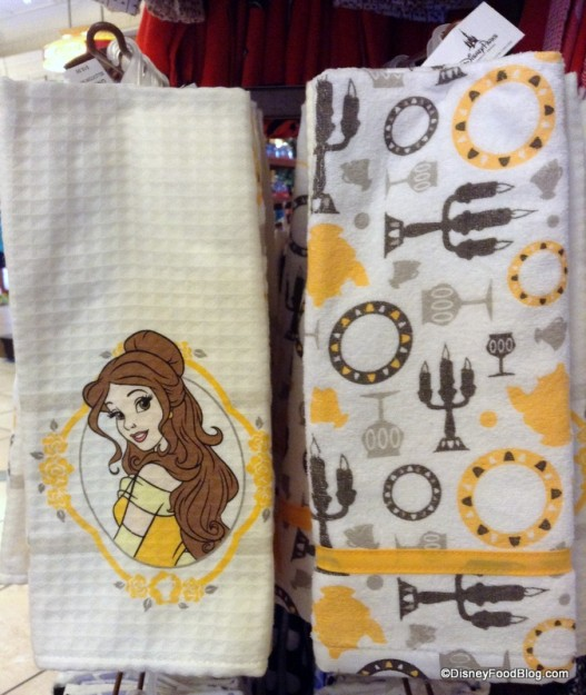Beauty and the Beast Towel Set