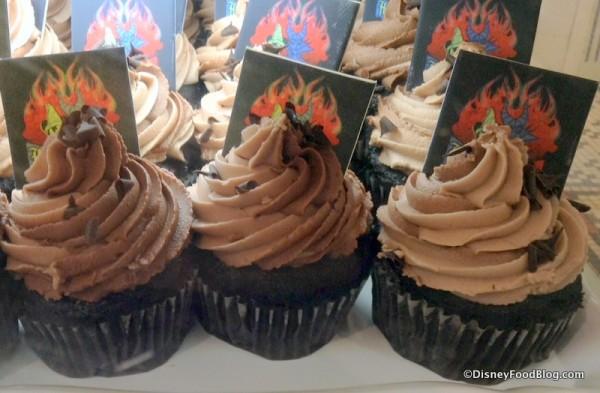 Chocolate Disney Side cupcakes