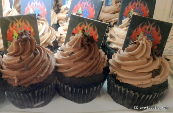 Chocolate Disney Side cupcakes