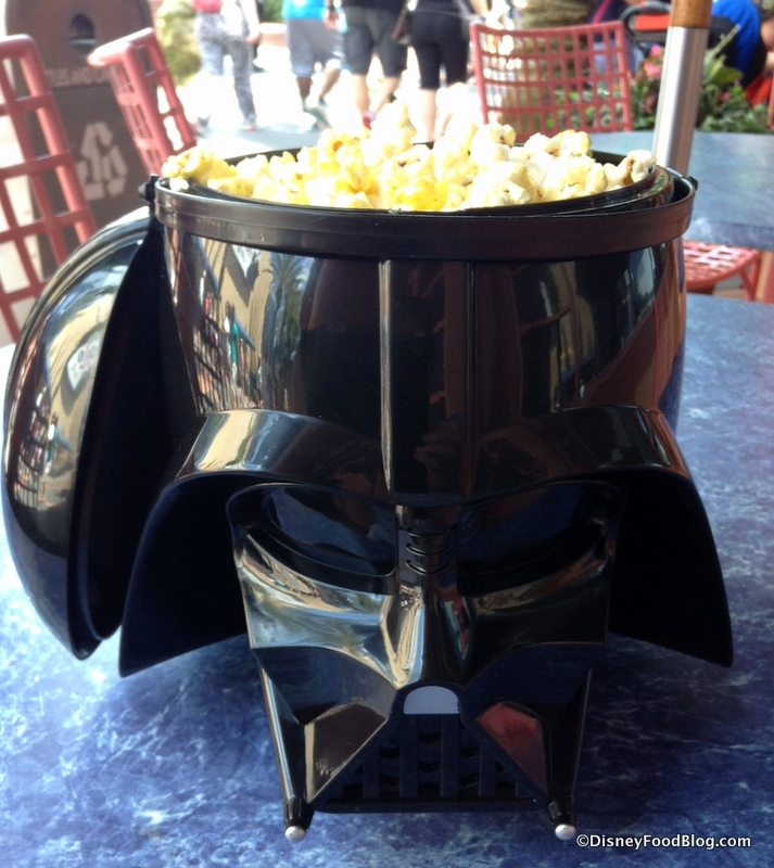Star Wars Weekends: Darth Vader Popcorn Bucket  the disney food blog