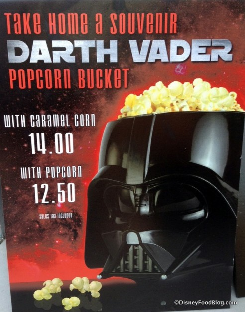 Darth Vader Popcorn description