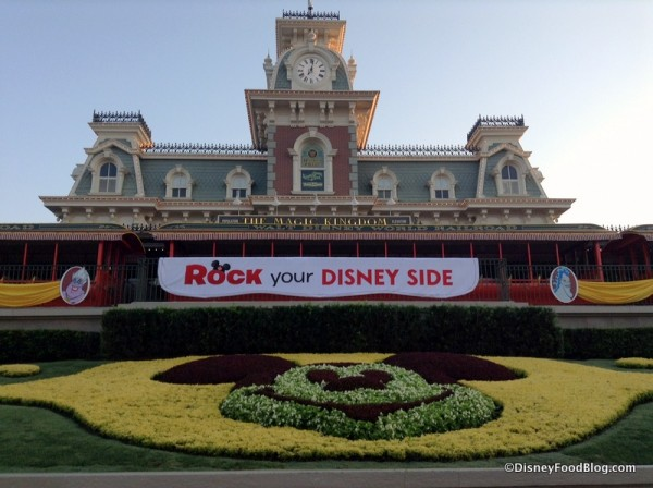 Disney Side Train Station