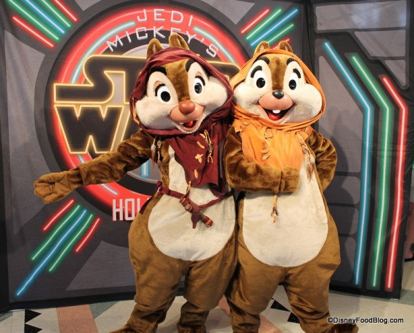 Ewok Chip and Dale welcome you!