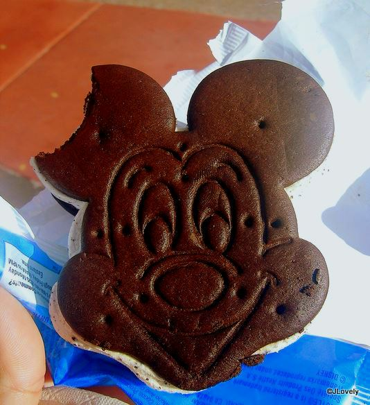 Mickey Premium Ice Cream Sandwich