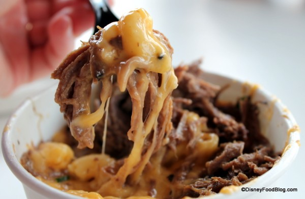 Pot Roast and Macaroni together