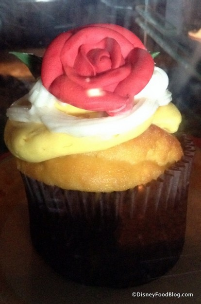 Gaston's Tavern Belle Cupcake