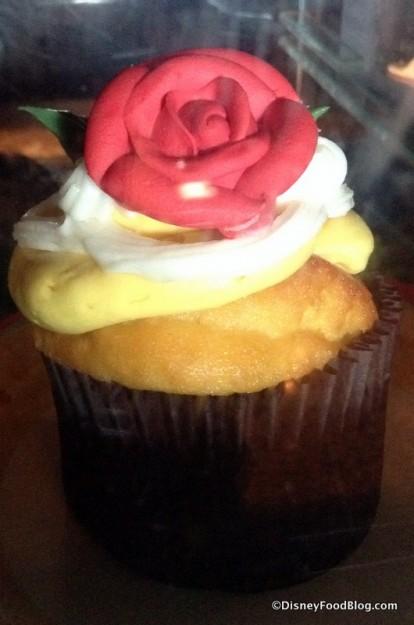 Gaston's Tavern Belle Cupcake