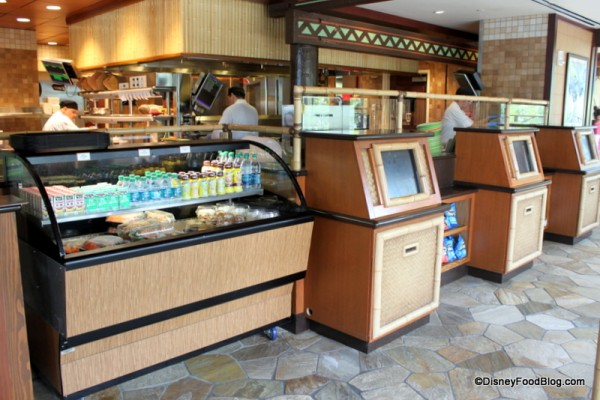 Ordering Kiosks and Grab and Go