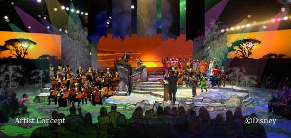 Concept Art for The Lion King - A Concert in the Wild