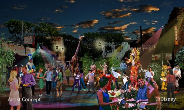 Concept art for Harambe Nights