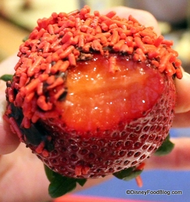 Inside Strawberry