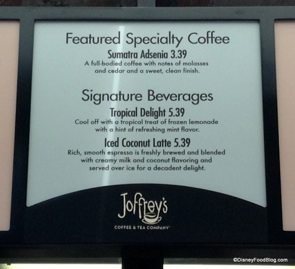 Joffrey's Specialty Coffee