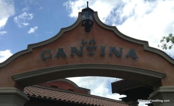 La Cantina Sign