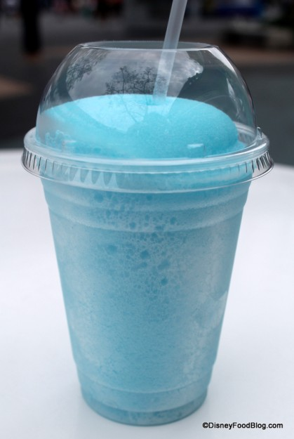 Blue Raspberry Frozen Beverage at The Lunching Pad