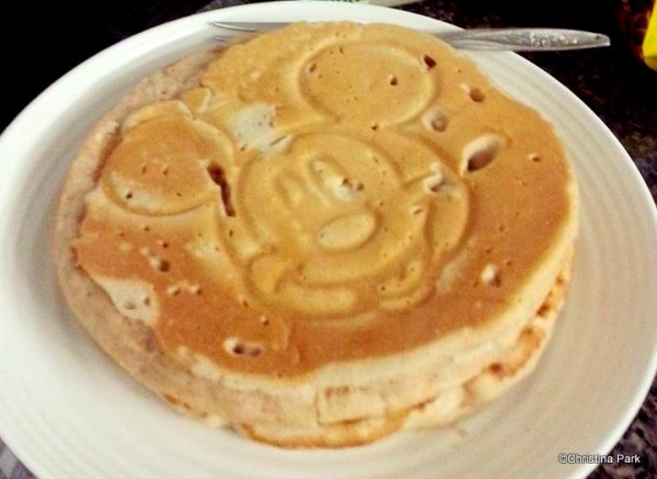 Homemade Mickey Mouse Pancakes