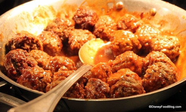 Mos Eisely Barbecue Meatballs