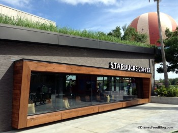 Starbucks Location in Downtown Disney's West Side
