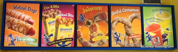 Pictures of Menu Items